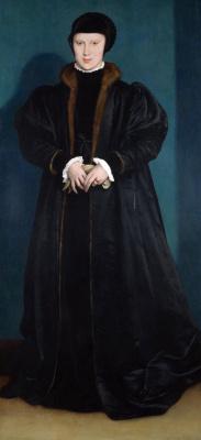 Ганс Гольбейн Младший. Кристина Данская, герцогиня Милана