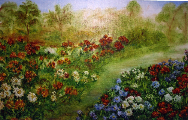 Rita Arkadievna Beckman. The garden of my memory