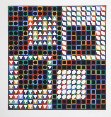 Victor Vasarely. Our MS