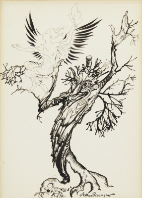 Arthur Rackham. The Magic Tree