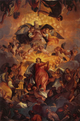 Paolo Veronese. Assumption of the Virgin Mary