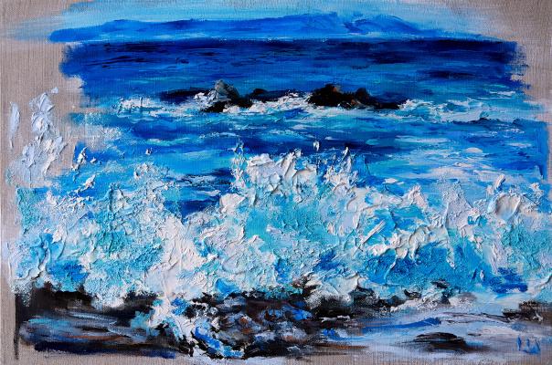 Lyudmila Zvegintseva. The wave