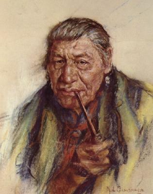 Николас де Гранмезон. Индейский портрет 49