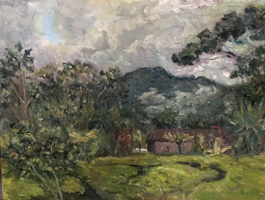 Victoria Marshakova. Rain season. Rwanda