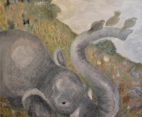 Anastasia Sizykh (Sadovenko). Elephant