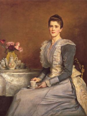 John Everett Millais. Mary Chamberlain, Mrs. Joseph Chamberlain