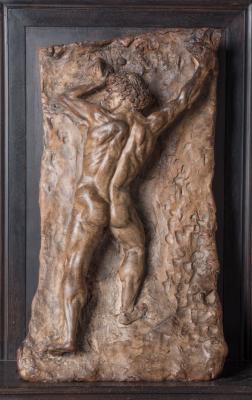 Андреа дель Вероккьо. Executioner model. The Beheading of John the Baptist