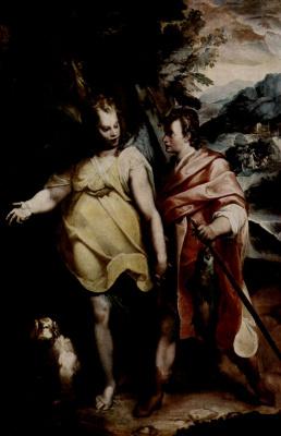 Рафаэль Мотта. Товия с ангелом