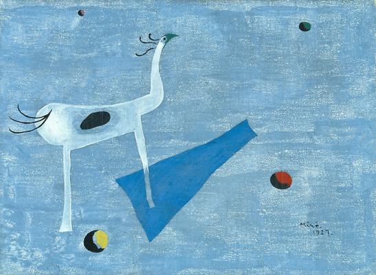 Хоан (Жоан) Миро. Цирковая лошадь