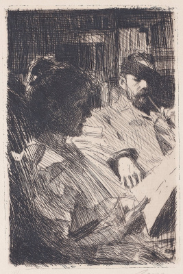Anders Zorn. Reading