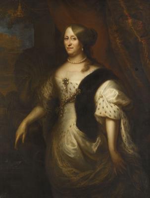 Jan Livens. Cornelia van Teding eagle, wife of Maerta Hacerca Tromp