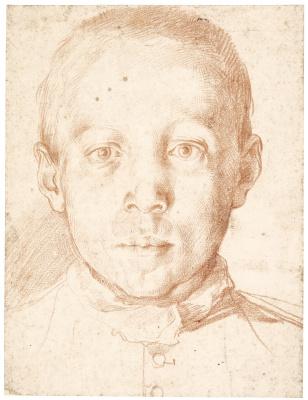 Агостино Карраччи. Портрет мальчика