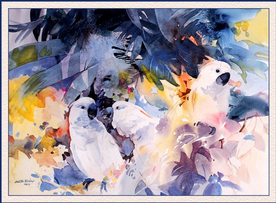 Джудит Блэр. Три попугая