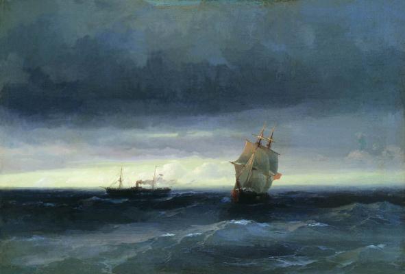 Ivan Aivazovsky. Sea