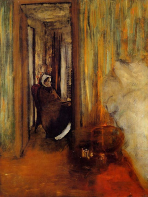 Edgar Degas. Nurse