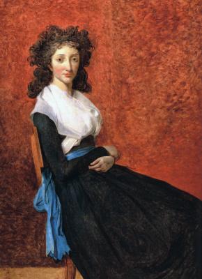 Jacques-Louis David. Madame Louise Cruden