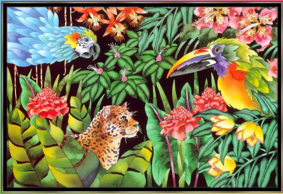 Джуди Вайс. Джуди Вайс. Тропический лес для детей 10