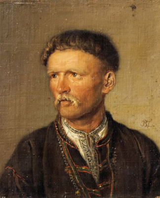 Vasily Andreevich Tropinin. An elderly Ukrainian peasant (Ustim Karmelyuk?)