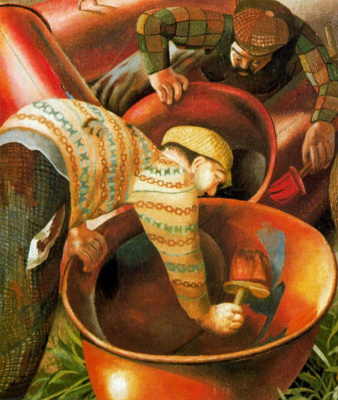 Stanley Spencer. Paint