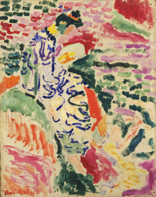 Henri Matisse. La Japonaise: Woman beside the Water