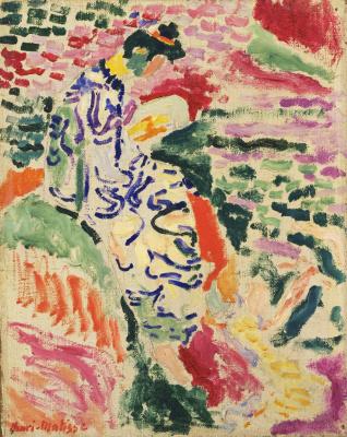 Henri Matisse. La Japonaise: Woman beside the Water