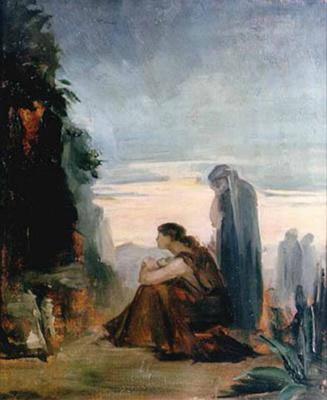 Мария Константиновна Башкирцева. Myrrh-bearing wives (Holy Wives). Sketch