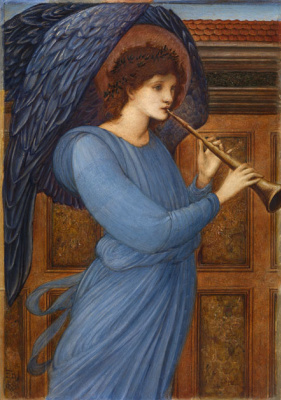 Edward Coley Burne-Jones. Angel