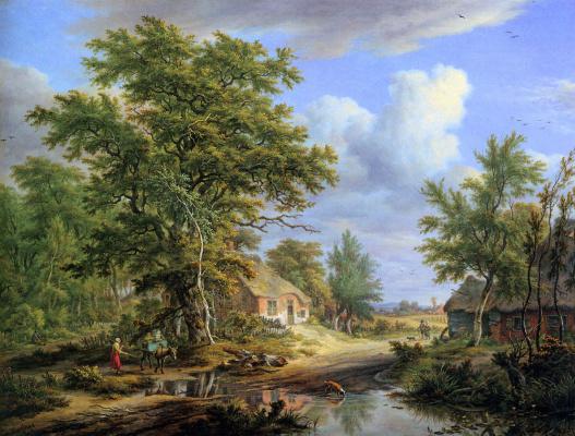 Эгберт ван Дриелст. Пейзаж