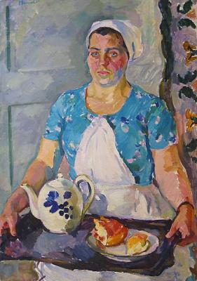Евгения Петровна Антипова. Официантка