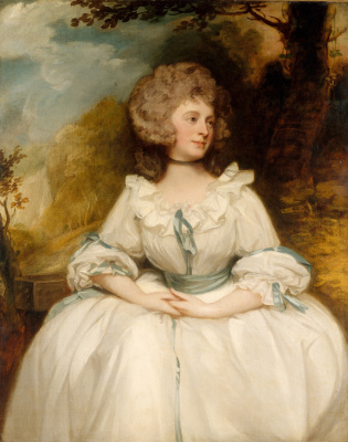 George Romney. Portrait of Jane Buller, Mrs. William Lemon