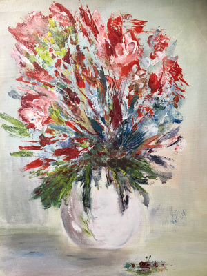 Mihails (Mikhail) Valentinovich Ribenko (Rybenko). Bouquet