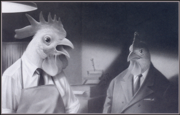 Трэвис Луи. Курица