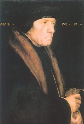 Ганс Гольбейн. Профиль мужчины