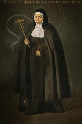Диего Веласкес. Преподобная мать Херонима де ла Фуэнте