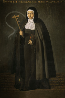 Diego Velazquez. Reverend mother of Jeronima de La Fuente