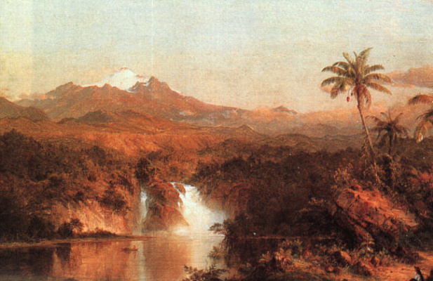 Frederick Edwin Church. Cotopaxi