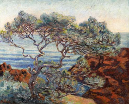 Арман Гийомен. Красные скалы в Аге