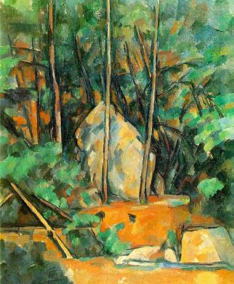 Paul Cezanne. In the Park of Chateau Noir