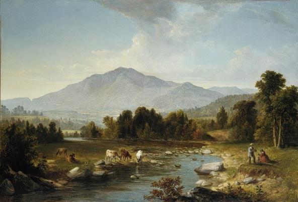Asher Brown Durand. Sandanski mountains