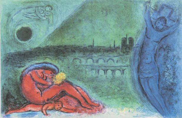 Marc Chagall. Pier de la Tournel
