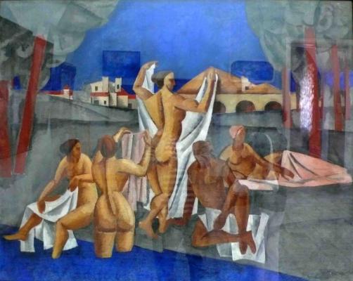 Amshey Markovic Nuremberg. Bathers. Odessa Art Museum