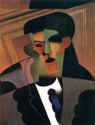 Juan Gris. Self-portrait