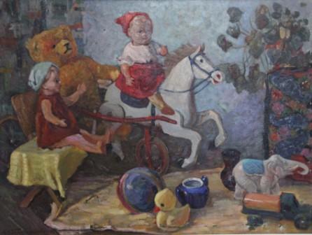 Alevtina Nikolaevna Bezukladnikova. Toys