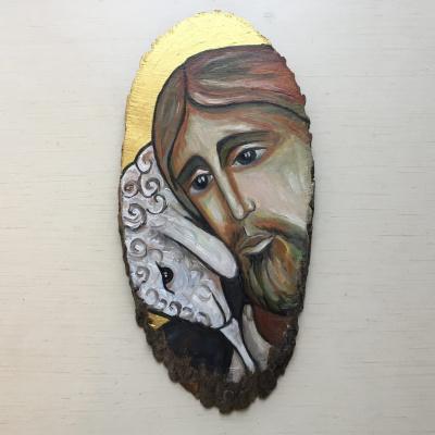 Anastasia Mirra. Jesus is the Good Shepherd