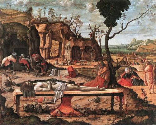 Vittore Carpaccio. Dead Christ