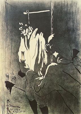 Henri de Toulouse-Lautrec. Hanging Man