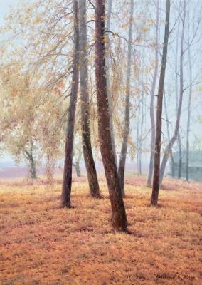 Vasily Ivanovich Gribennikov. Autumn Park
