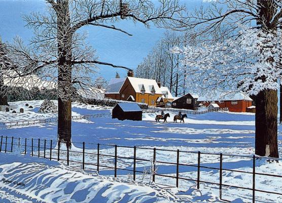 Тревор Уэллс. Сельская зима