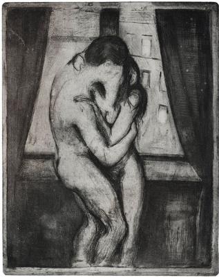 Edvard Munch. Kiss
