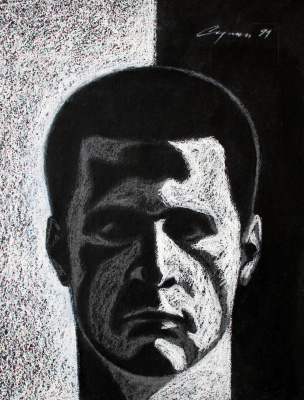Nikolai Nikolayevich Sednin. Self-portrait